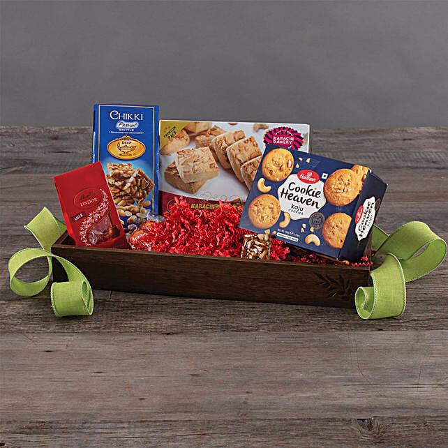 Cookies N Chocolates Hamper: Send Diwali Chocolates to USA