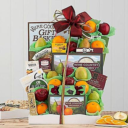 Fruits N Snack Holiday Surprise: Send Thanks Giving Gifts to USA