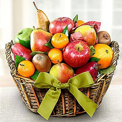 Organic Fruit Basket: