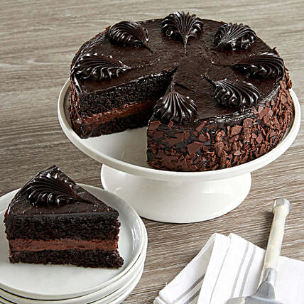 Chocolate Mousse Torte Cake: Send Fathers Day Gifts to USA
