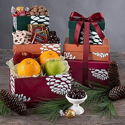 Chocolates And Fruits Combo: Chinese New Year Gift Delivery in USA