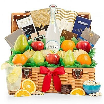 Juicy Fruits Gourmet Combo: Chinese New Year Gift Delivery in USA