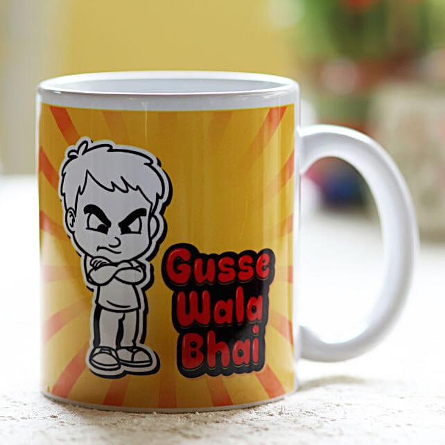 Gusse Wala Bhai Printed Mug: New Arrival Gifts USA