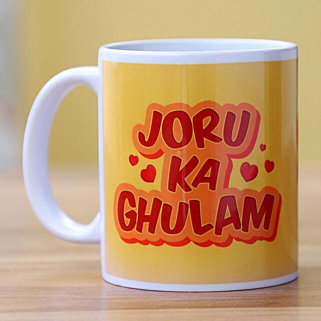 Joru Ka Ghulam Printed Ceramic Mug: