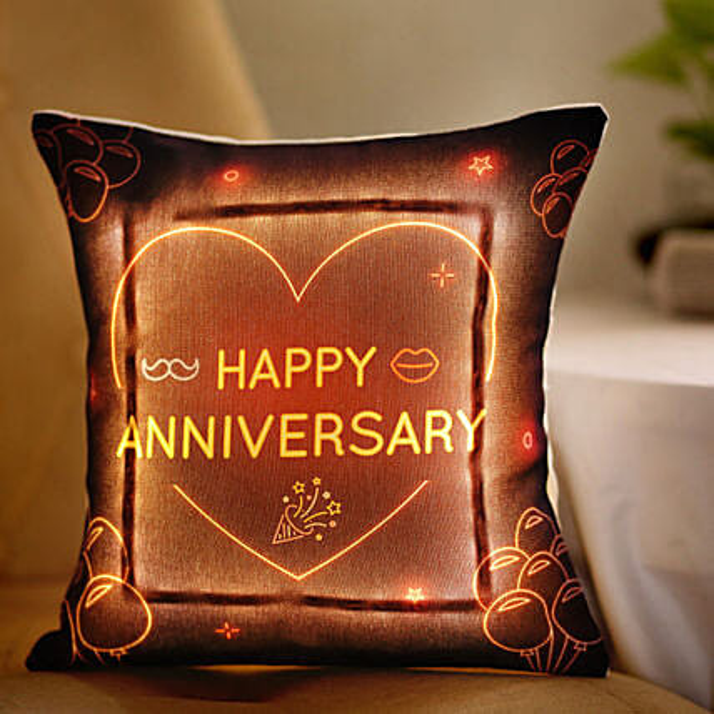 LED Cushion For Anniversary:
