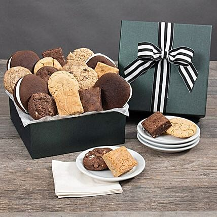 All Things Baked Sampler Gift Basket: Send Valentines Day Cakes to USA