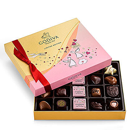 Valentines Day Assorted Chocolate Gift Box 20 Pcs: Send Valentines Day Chocolates to USA