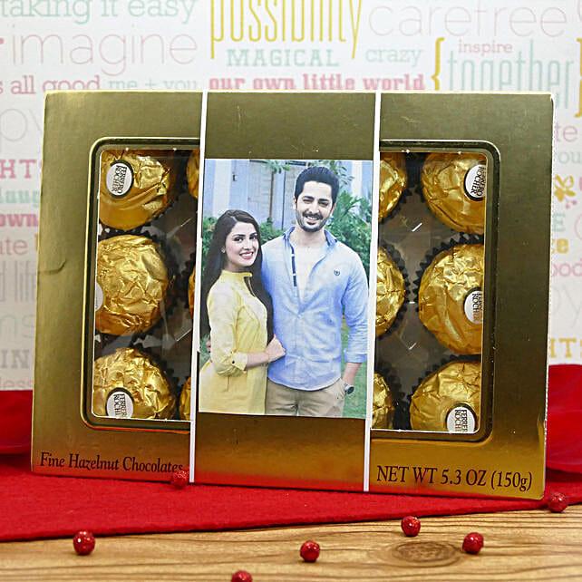 Personalized Ferrero Box: Chocolates for Birthday