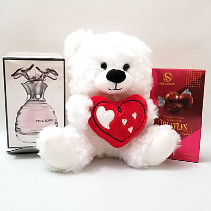 Exotic Fragrance Gift: Soft Toys Delivery in USA