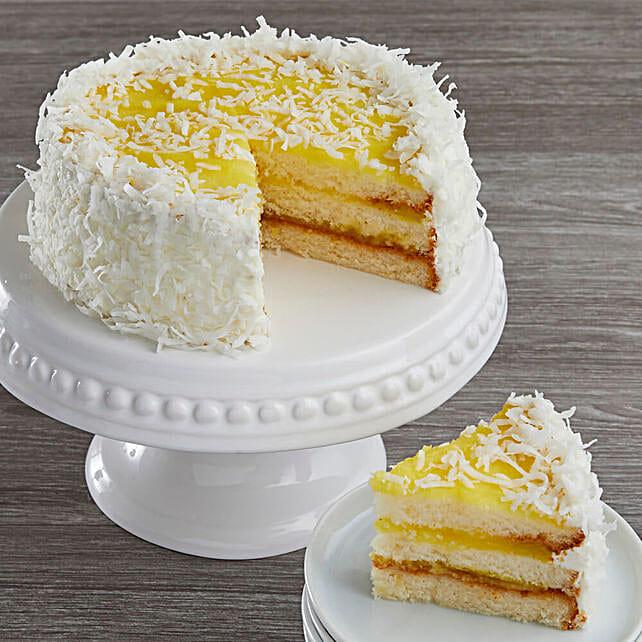 Lemon Coconut Cake: Cake Delivery in USA
