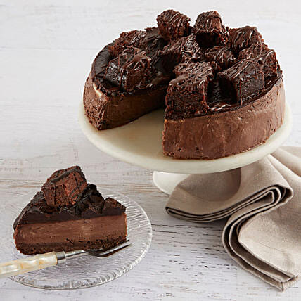 Brownie Cheesecake: Cake Delivery In USA