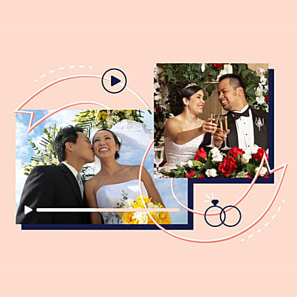 Happy Anniversary Personalised Video Wishes: Personalised Gifts to USA