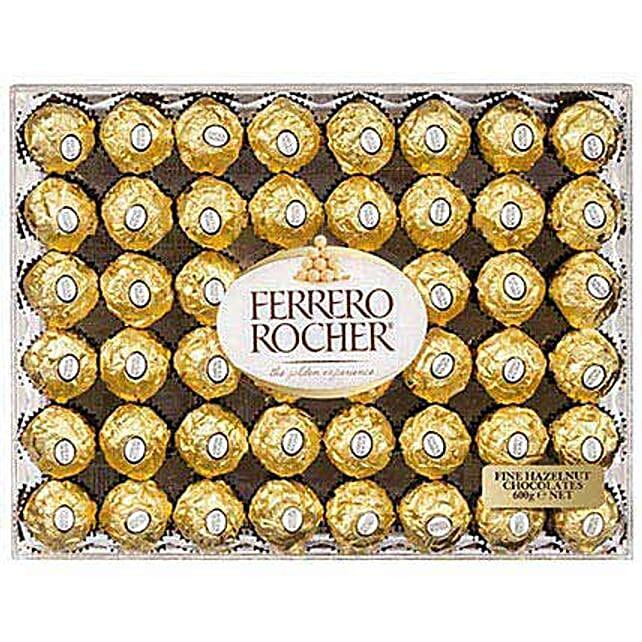 4 Dozens Of Ferrero Rocher Chocolates: Send Gifts to Vietnam