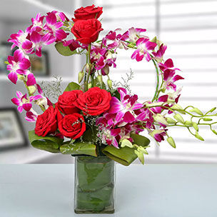 Send mixed Fllowers to Malaysia