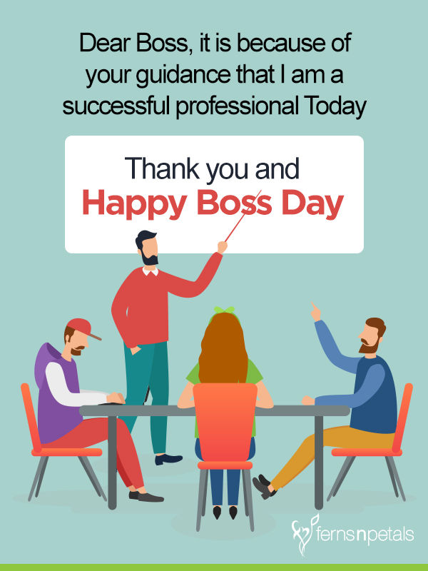 boss day wishes for new boss
