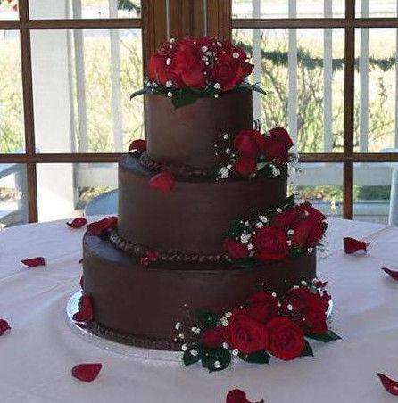 Truffle Wedding Cake
