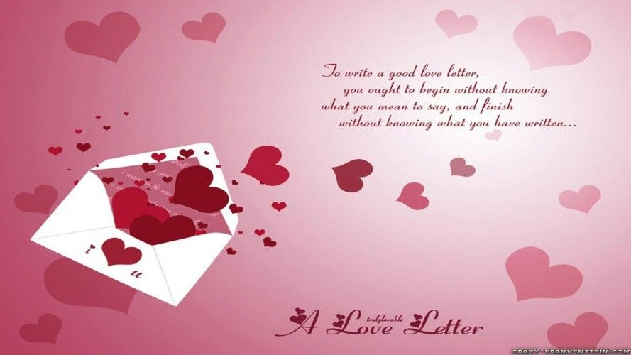 Poems, Letters, old School Love Proposal