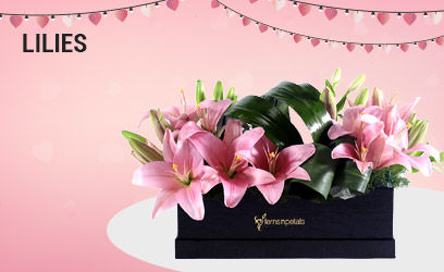 Lilies for anniversary