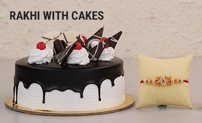 Rakhi With Cakes
