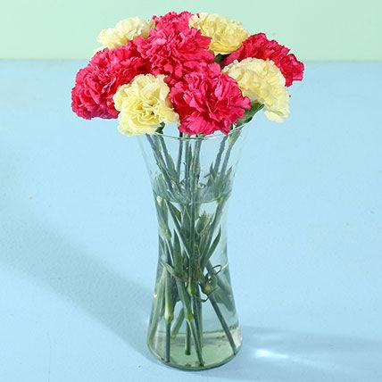 Elegant Mixed Carnations