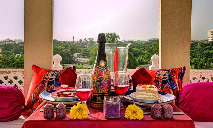 Romantic Dinner Date at Private Baradari