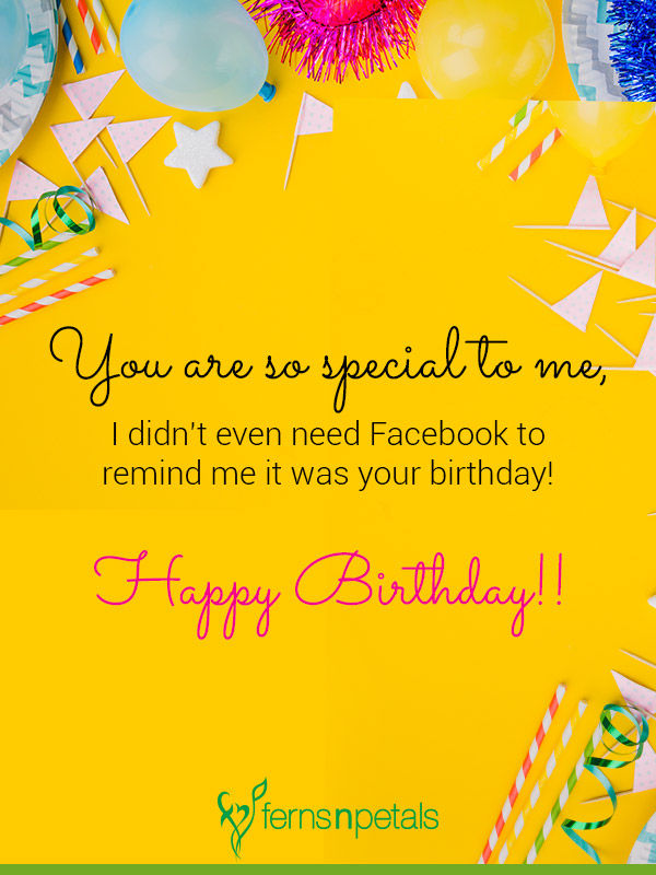 30+ Best Happy Birthday Wishes, Quotes & Messages - Ferns N Petals