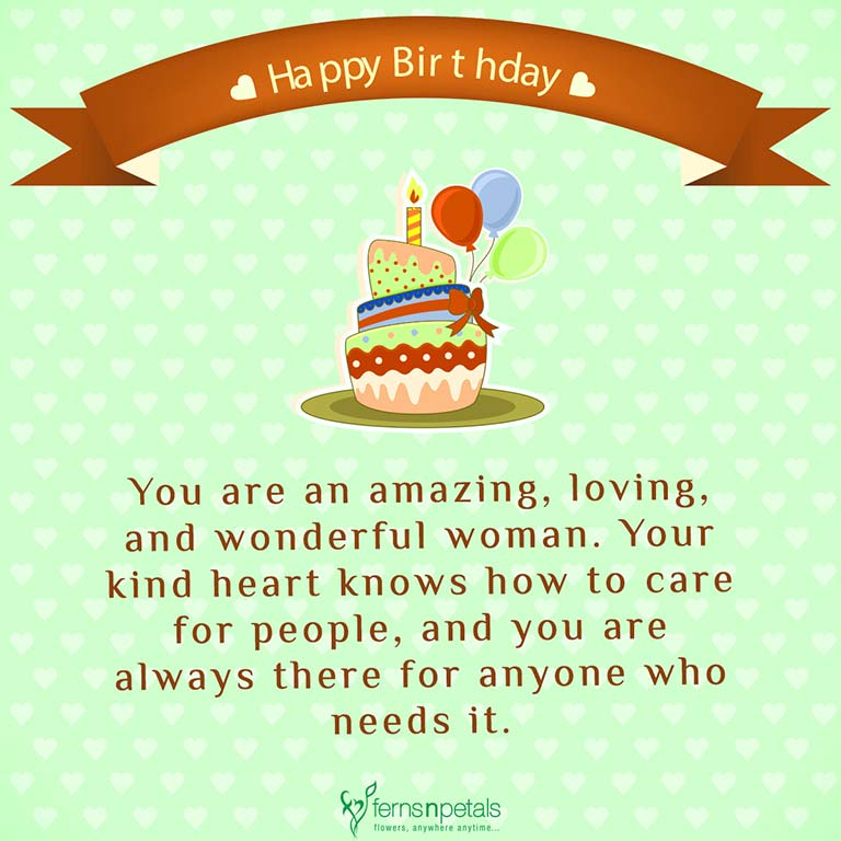 30+ Best Happy Birthday Wishes, Quotes & Messages - Ferns N ...