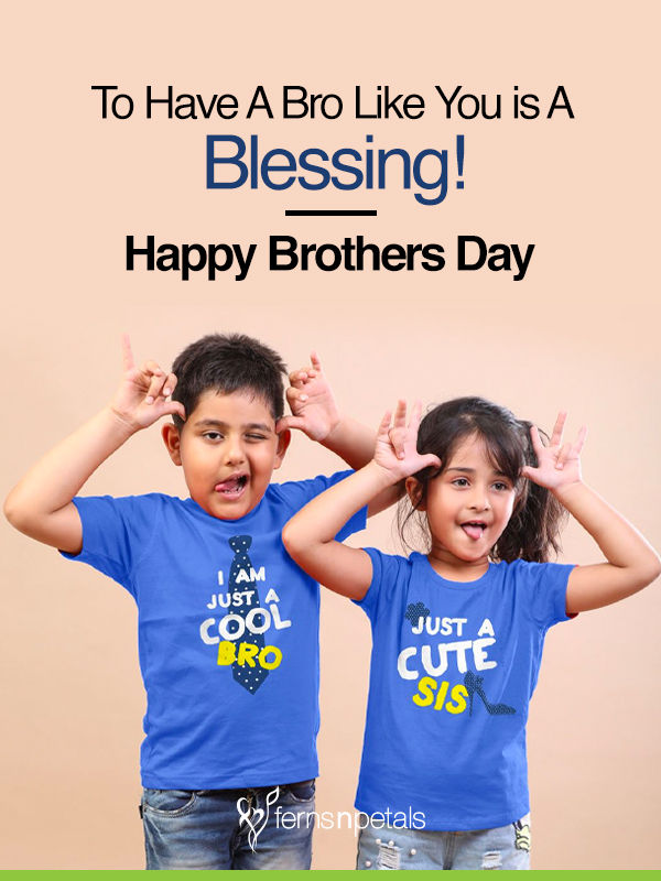 happy brother s day quotes wishes n messages ferns n petals