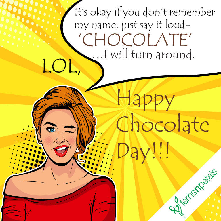Happy Chocolate Day Quotes | Chocolate Day Messages and Wishes