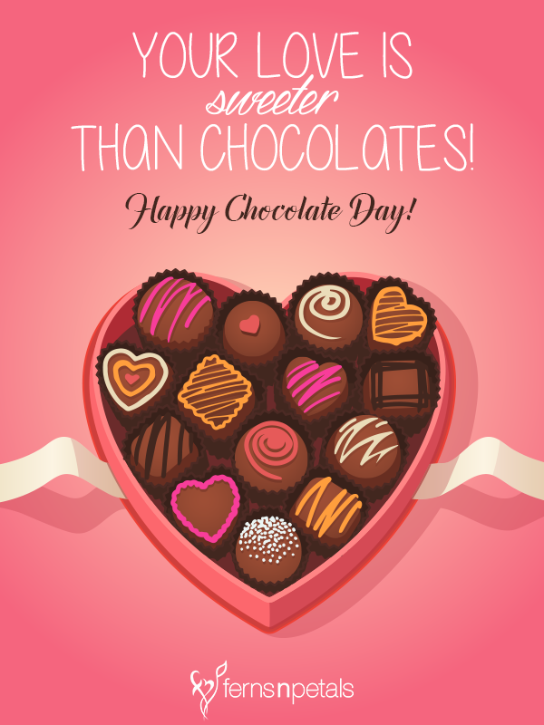Happy Chocolate Day Quotes Chocolate Day Messages And Wishes