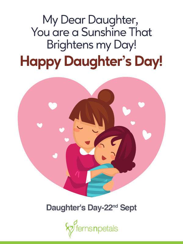 unique quotes and messages to wish happy daughters day ferns