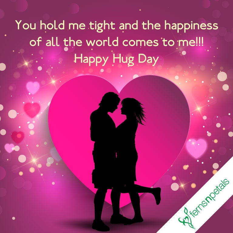 online quotes for hug day