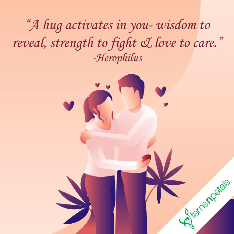 hug day quotes for lover