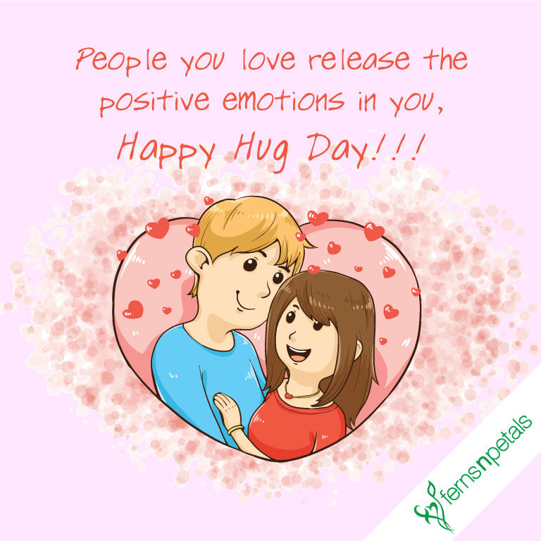 hug day wishes for friends