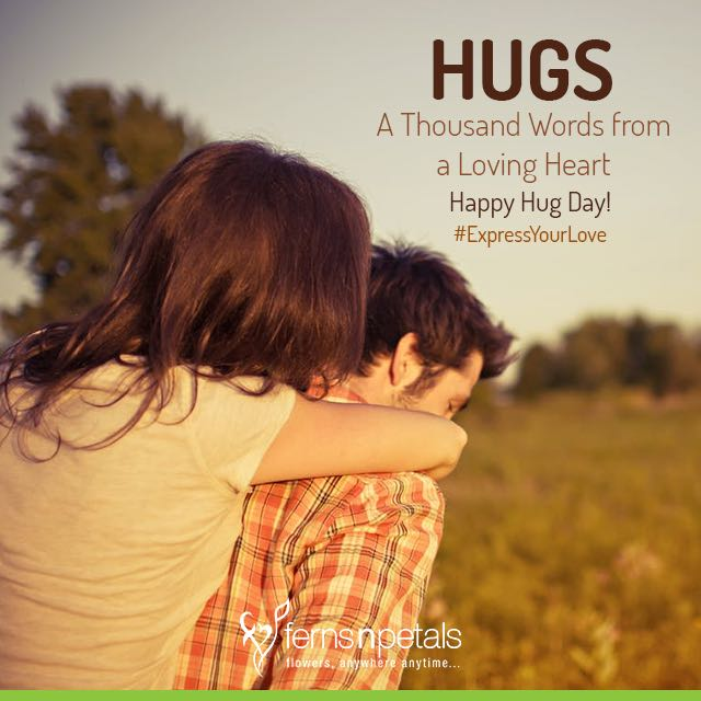 hug day wishes for her