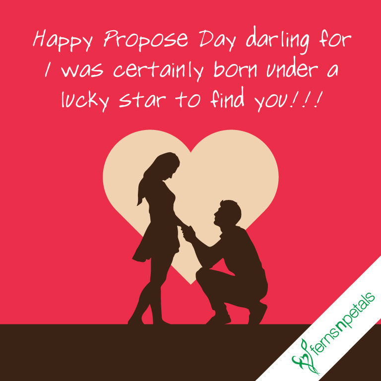 creative propose day quotes