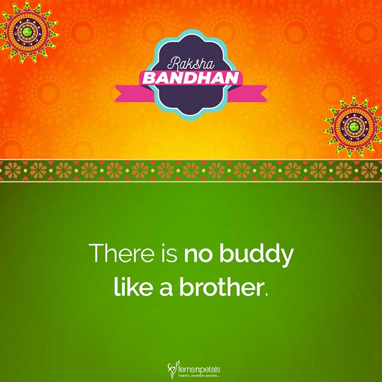 50+ Happy Raksha Bandhan/Rakhi Quotes, Wishes, Status For Brother