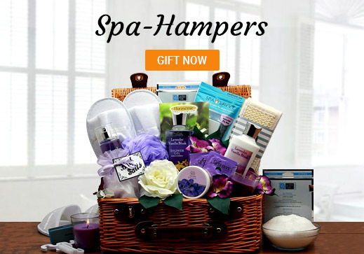 Spa hampers UK