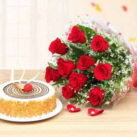 Flowers & Cakes Combos to USA