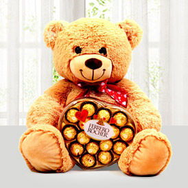 Teddy & Chocolates combo to USA