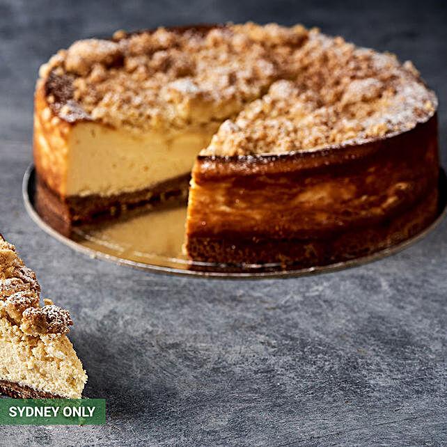 Baked Ricotta Cheesecake