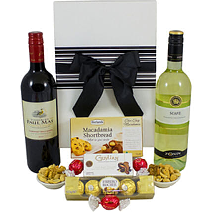 Charismatic French And Italian Wine Hamper