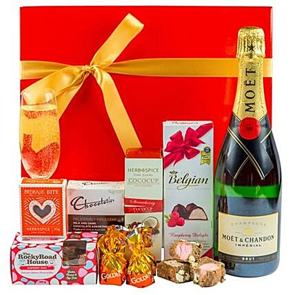 Chocolate Bubbles Christmas Hamper