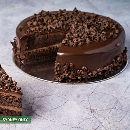 Classic Chocolate Mud Cake:Send  Cakes to Australia