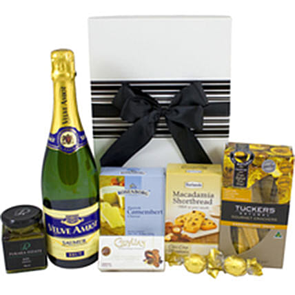 Classic Treat Champagne Cookies And Chocolates