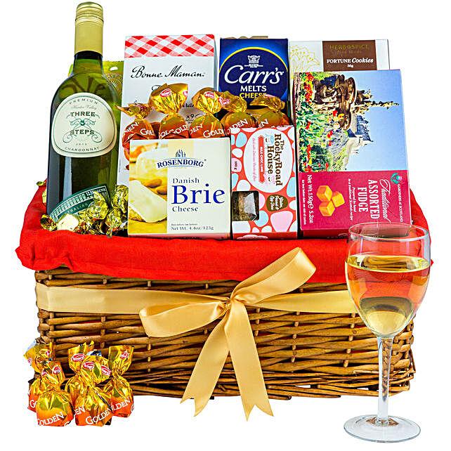 Delicious Treats Christmas Basket