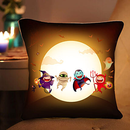 Evil Attack LED Cushion