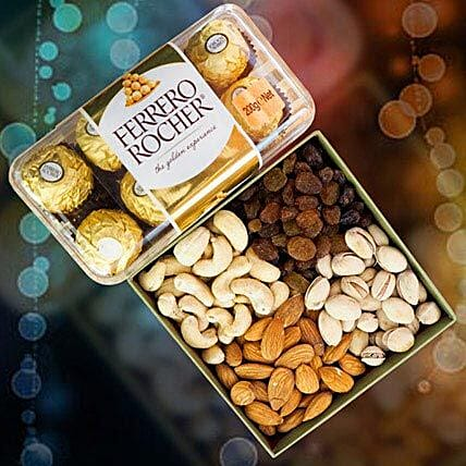 Ferrero Rocher With Mix Dry Fruits