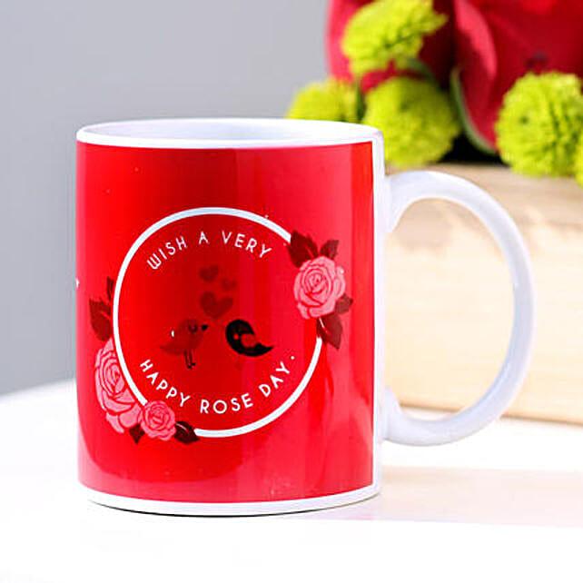 Happy Rose Day Mug