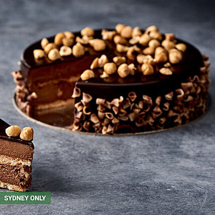 Heavenly Chocolate Truffle Cake:Send  Cakes to Australia